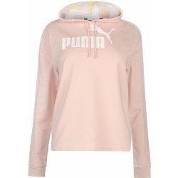Dámská mikina Puma OTH Crop Hoody Ladies Pink White 5e51e23d33