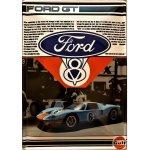 Plechová cedule Ford GT40, 20x30cm