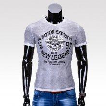 Pánské tričko Aviation šedé