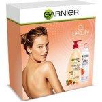 Garnier Beauty Oil tělové mléko 250 ml + antiperspirant 150 ml dárková sada