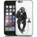 Pouzdro HEAD CASE Apple iPhone 6 a 6S OPIČÁK S TELEFONEM