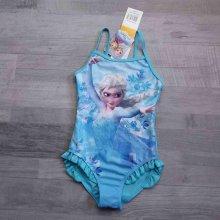 DISNEY plavky jednodílné tyrkysové FROZEN