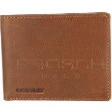 Greenburry Kožená peněženka 682-24 Cognac
