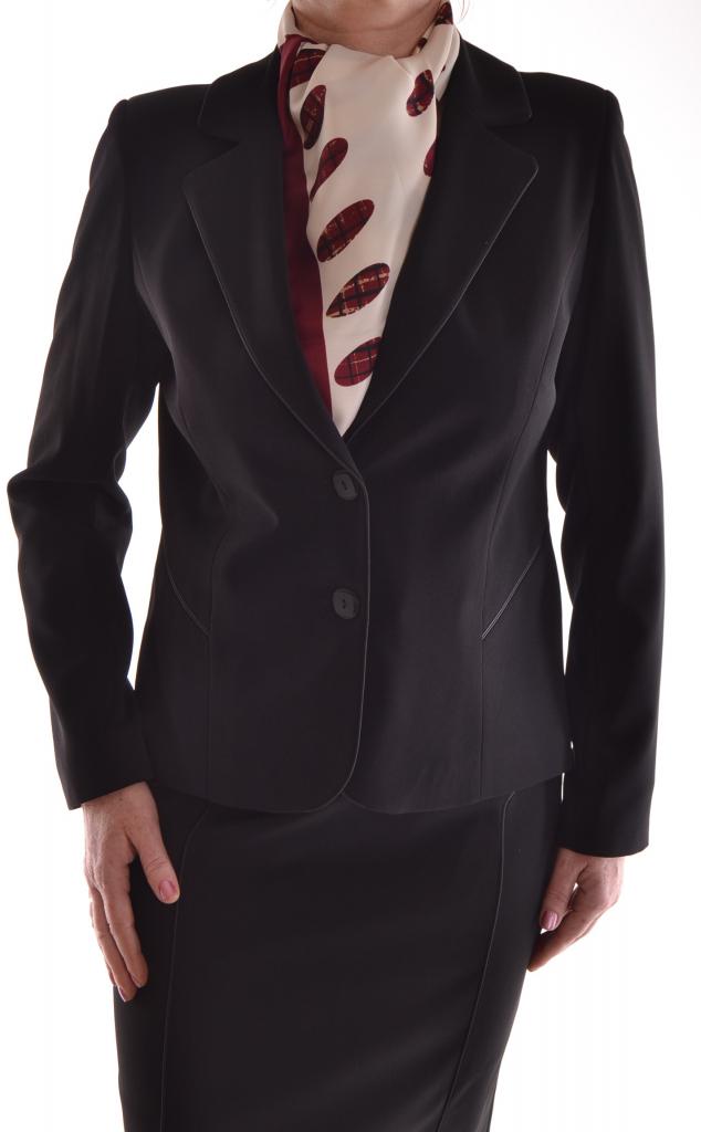 f050551a85da Dámský sukňový kostým s černým paspólem od 1 485 Kč - Heureka.cz