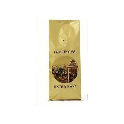 Frolíkova Extra z Borohrádku zrnková Káva 500 g