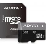 ADATA SDHC 8GB UHS-I AUSDH8GUICL10-RA1