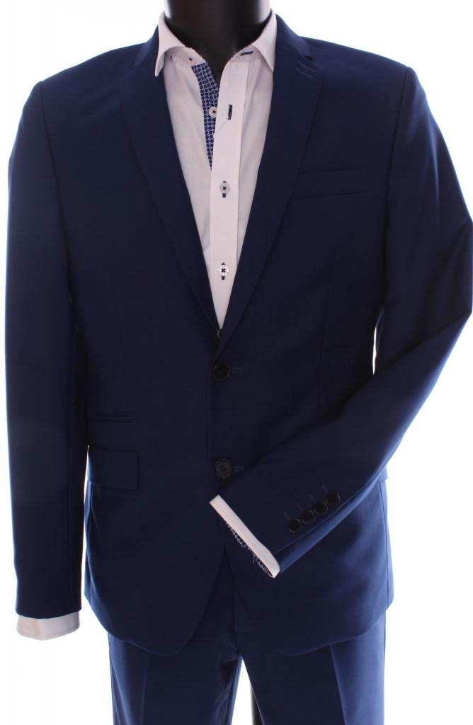 7a8913d531 Pánsky oblek Damian slim fit kráľovská modrá alternativy - Heureka.cz