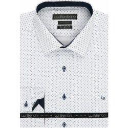 Lui Bentini Luxusní pánská košile dlouhý rukáv od 1 080 Kč - Heureka.cz cd2ed555a0