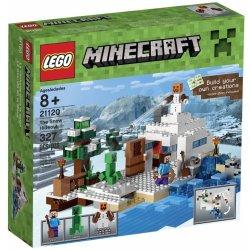 Lego Minecraft 21120 Sněžná skrýš Heureka.cz