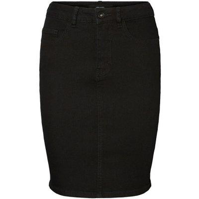 Vero Moda sukně Hot Nine Hw Dnm Pencil Skirt Mix Noos black