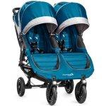 Baby Jogger City Mini Double Crimson-šedý 2014