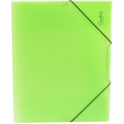 Karton P+P s gumou A4 Opaline zelená 2-593
