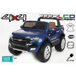 Beneo elektrické autíčko Ford Ranger Wildtrak Luxury s LCD modré lakované