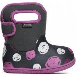 Bogsfootwear Dětské boty Baby Bogs Classic Sketched Dots dark Gray Multi 676e02836b