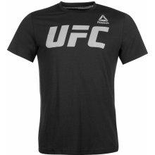 Reebok UFC T Shirt Mens Black/White