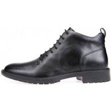 Geox pánská kotníčková obuv Kapsian černá