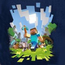 Minecraft Adventure Youth Tee navy