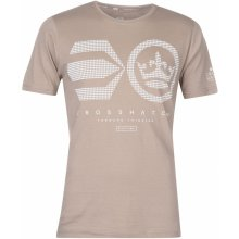 Crosshatch Camocru T Shirt Mens Timber Wolf