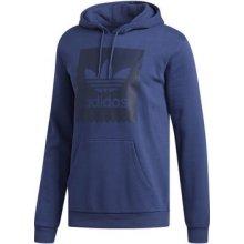 d359c568d3b Adidas Fleecová Mikina Trefoil Solid Hoodie Modrá