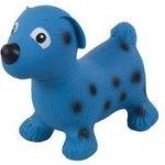 Sun Baby skákací zvířátko pejsek modrá