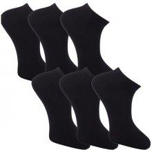 Assante 783 Multipack ponožky 6 párů černé antibakteriální kotníkové Ag 99bd185c66