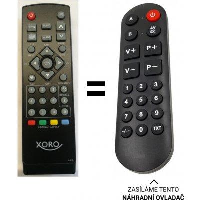 Dálkový ovladač Senior XORO HRT7610 DVB-T/T2. v1.5