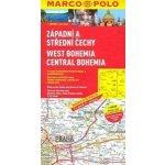 Západ.a střední Čechy mapa MP
