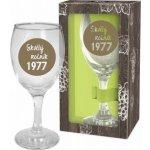 Albi Můj Bar Sklenka na víno 1977 220 ml