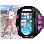 Pouzdro Sportiso SLIM Sportovní armband iPhone 5/5S/5C/SE Růžové