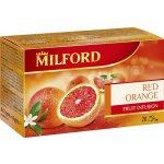 MILFORD Čaj ovocný Červený pomeranč 20 x 2,5 g