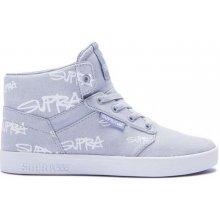 SUPRA - Kids Yorek High Grey Print-White