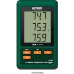 Extech 3-kanálový teplotní data-logger na sd karty sd200