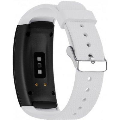 Samsung Gear Fit 2 Silicone Land řemínek, White SSG005C08