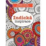Indická inspirace omalovánky Julie Anson