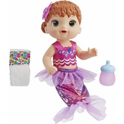 Hasbro Baby Alive zrzavá mořská panna