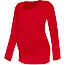 Jožánek Kateřina tričko pro snadné kojení červené