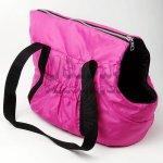 Zopet Růžová taška pro psa 36 x 25 cm