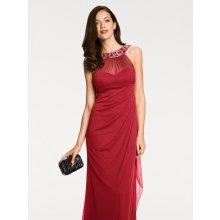 heine TIMELESS večerní šaty s aplikacemi červená 5a8673e7bb