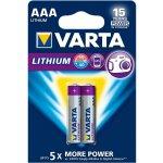 Baterie VARTA Professional LITHIUM AAA 2ks