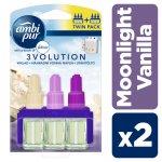 Ambi Pur 3Volution Moonlight vanilla vonná náplň do odpařovače 2 x 20 ml