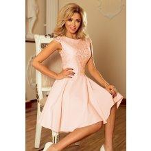 e8d7d2be9228 Numoco šaty s krajkovým topem Marta 157-7 růžová