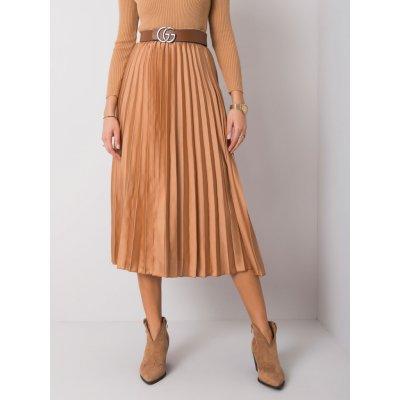 Plisovaná sukně yp-sd-cwd0451.07 beige