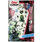 Multitoys Monster High tetovačky zelená