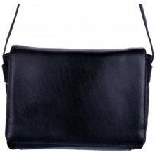 Arwel kožená klopnová kabelka 213-7320 černá 8b69e2e3935