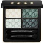 Gucci Eye oční stíny 80 Aquamarine Dream Magnetic Color Shadow Quad 5 g