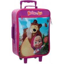 JOUMMABAGS Cestovní kufr Máša a Medvěd 25 l
