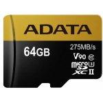 ADATA microSDXC 64GB UHS-II U3 AUSDX64GUII3CL10-CA1