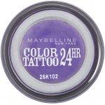 Maybelline Color Tattoo 24h oční stíny 15 Endless Purple 4 g