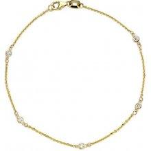 KLENOTA diamantový náramek je3300
