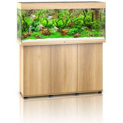 Juwel akvarijní set Rio LED 240 dub 121x41x55 cm, 240 l